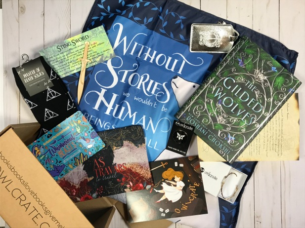 Owlcrate full unboxing January