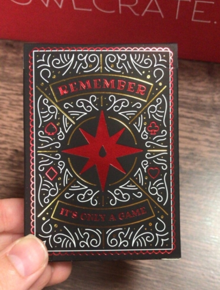 OwlCrate World of Caraval Playing Cards