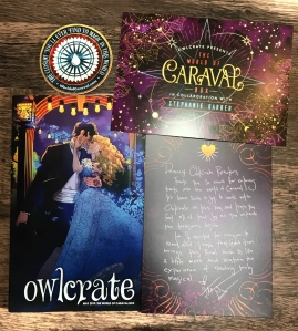 Owlcrate World of Caraval Art
