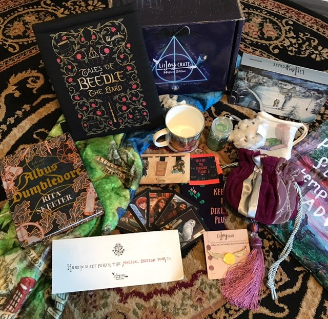 Litjoy Harry Potter Magical Edition Crate unboxing review