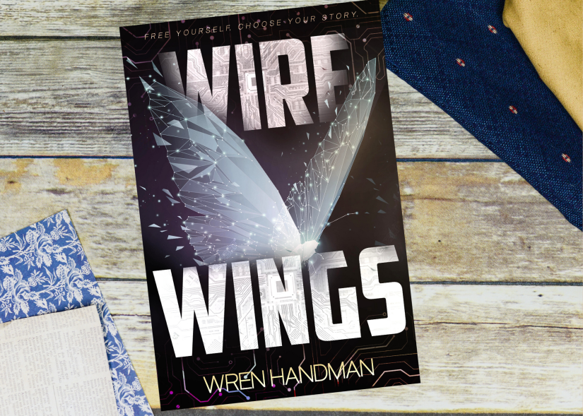 Wire Wings by Wren Handman Cover