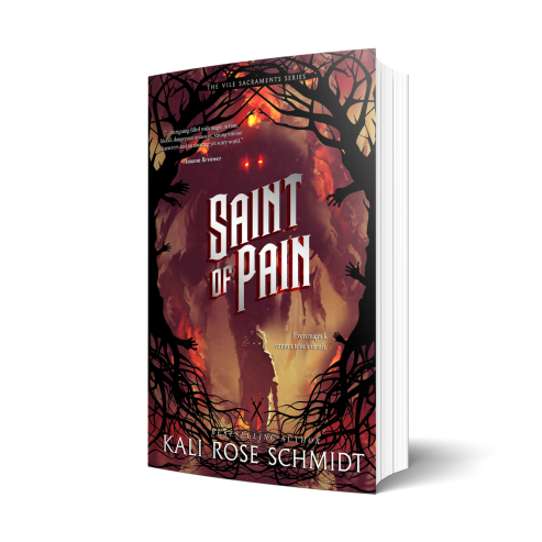 Saint of Pain by Kali Rose Schmidt Cover Reveal