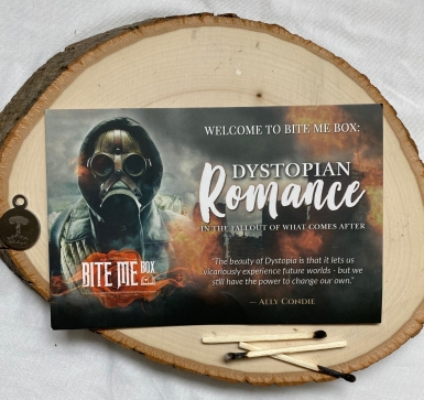 Bite Me Box Dystopian Romance Unboxing and Review