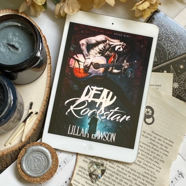 COVER REVEAL: Dead Rockstar, by Lillah Laweson