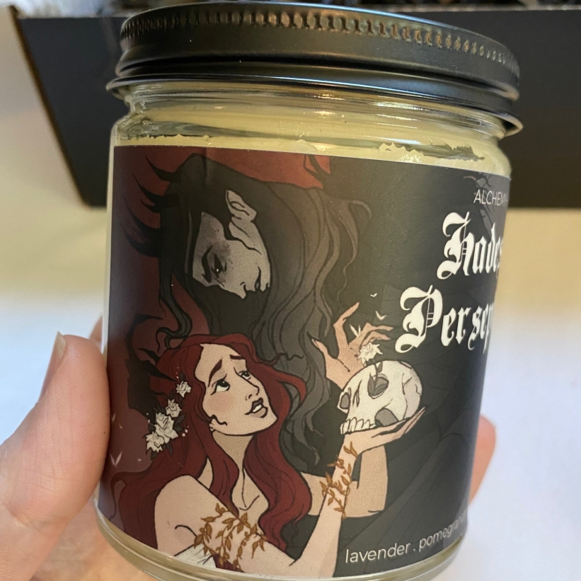 Alchemy & Ink Starcrossed Candle Cult Unboxing and Review