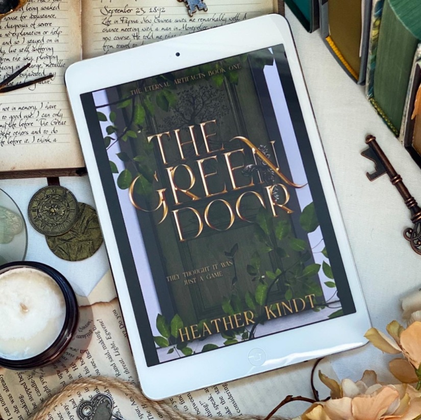 COVER REVEAL: The Green Door by Heather Kindt