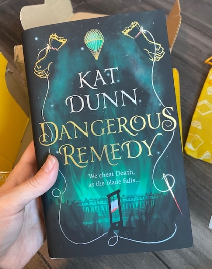 April Illumicrate Unboxing Dangerous Remedy