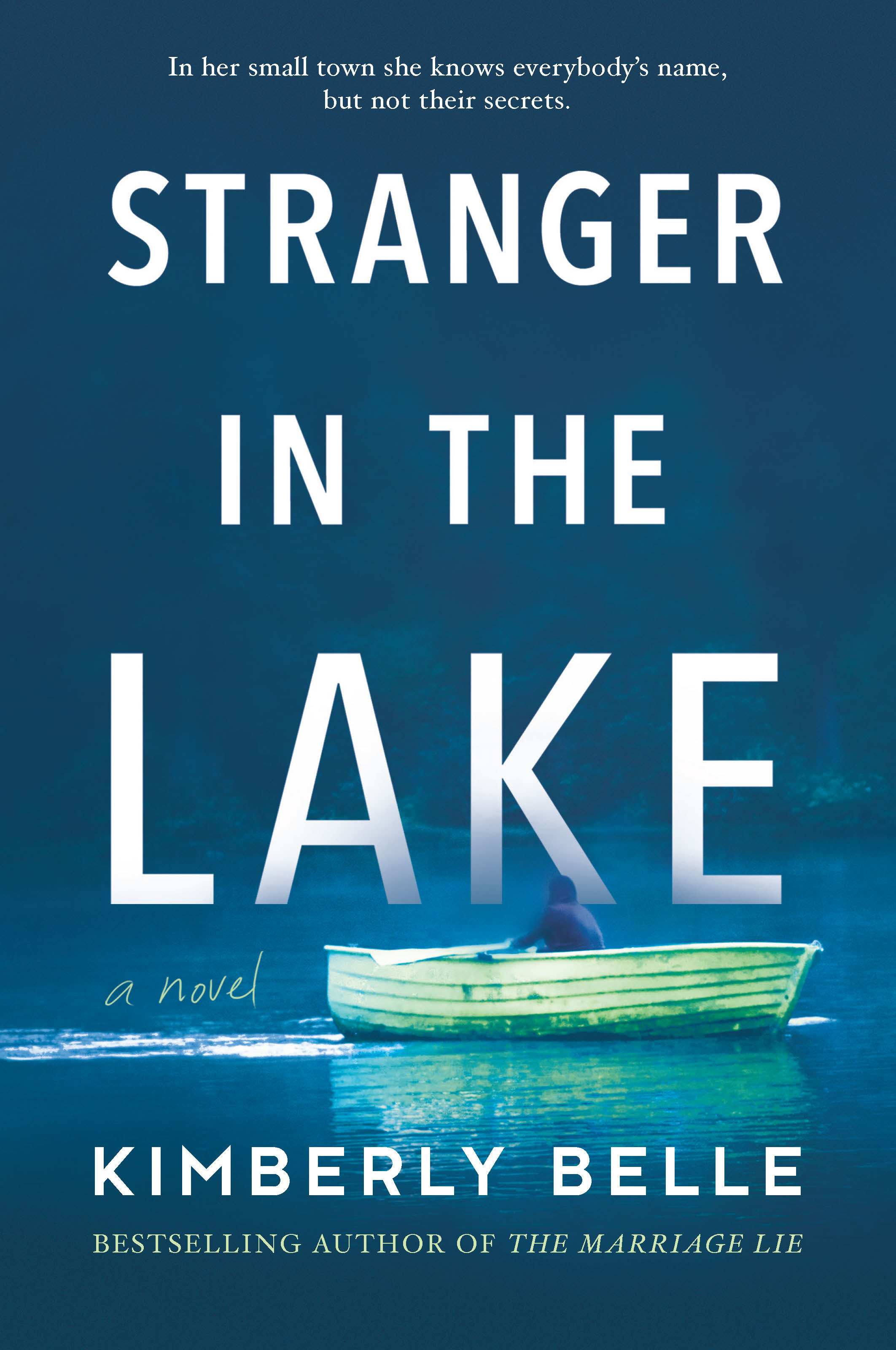 STRANGER IN THE LAKE cover